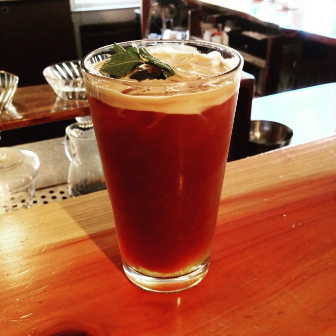 Coffee Recipe: Espresso Tonic withMint
